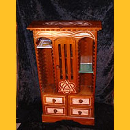 cd st nder holz cd schrank celtic. Black Bedroom Furniture Sets. Home Design Ideas
