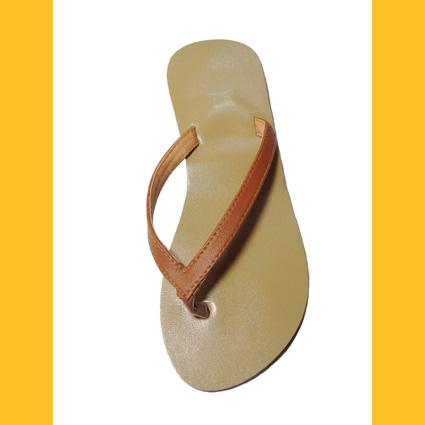 online retailer 718a0 9d55c Damen Herren Flip Sandale Classik Zehentrenner Zehenpantolette, Gr.43, braun