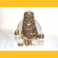 Resin Happy Buddha, 30cm