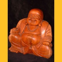 Happy Buddha Mönch