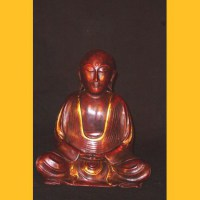 Buddhistischer Mönch Resin