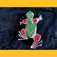 Magnet Sticker Frosch