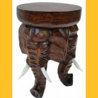 Hocker Elefant II Blumenpodest
