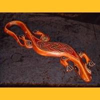 Willkommen bei sawa art - Gecko wanddeko ...