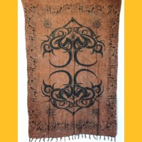 Sarong Pareo Tribaldesign I Wickelrock