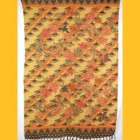 Sarong Pareo Kaya Wickelrock orange