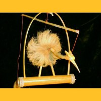 Feng Shui Vogel Windspiel small